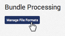 click Manage File Formats