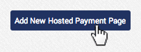 AGMS Gateway add a new Hosted Payment Page form