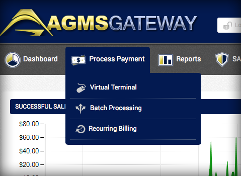 AGMS Gateway Virtual Terminal